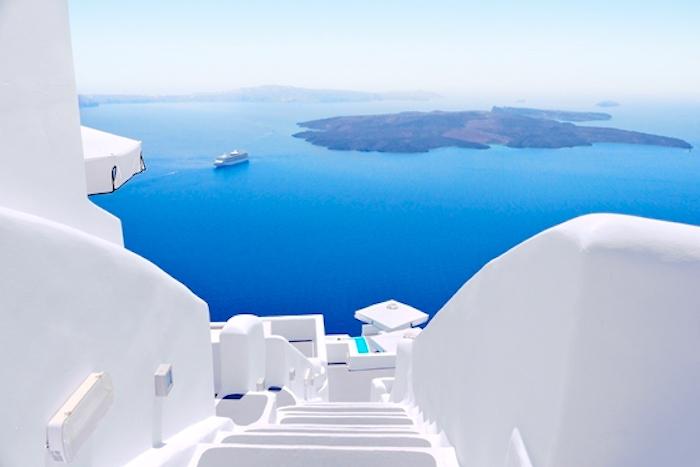 Santorini Cyklady, Santorini wulkan, Santorini jak się dostać, Prom na Santorini, Santorini zachód słońca, Santorini Grecja, Santorini ceny, Santorini atrakcje