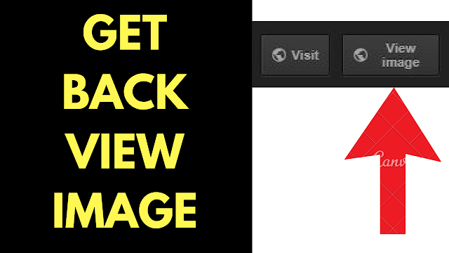"How to get back ""view image"" button in Google Images search"