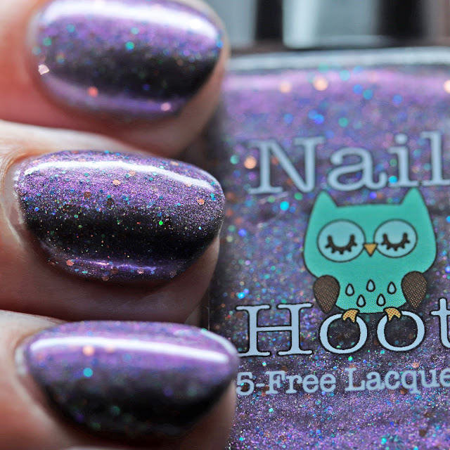 Nail Hoot Indie Lacquers Haunted Mansion