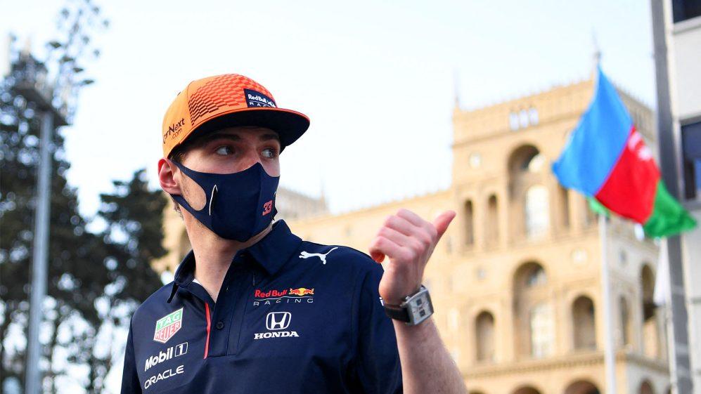 Verstappen revela que estava no centro médico de Baku quando soube do erro de Hamilton