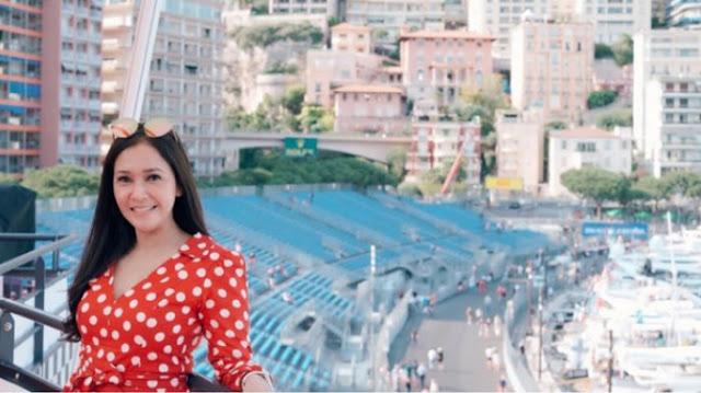 Sama-sama Taging Lokasi Monaco Grand Prix, Maia Estianty Liburan Bareng Sang Kekasih?
