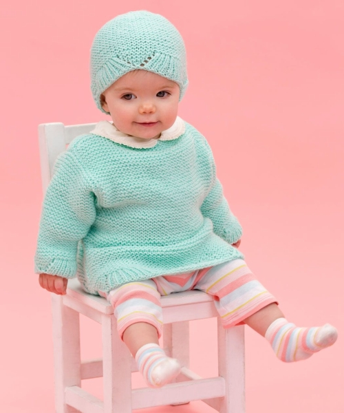 Camilla Babe Sweater & Hat - Free Pattern