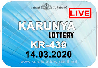 kerala lottery result, kerala lottery kl result, yesterday lottery results, lotteries results, keralalotteries, kerala lottery, (keralalotteryresult.net),  kerala lottery result live, kerala lottery today, kerala lottery result today, kerala lottery results today, today kerala lottery result, Karunya lottery results, kerala lottery result today Karunya, Karunya lottery result, kerala lottery result Karunya today, kerala lottery Karunya today result, Karunya kerala lottery result, live Karunya lottery KR-439, kerala lottery result 14.03.2020 Karunya KR-439 14 March 2020 result, 14 03 2020, kerala lottery result 14-03-2020, Karunya lottery KR-439 results 14-03-2020, 14/03/2020 kerala lottery today result Karunya, 14/03/2020 Karunya lottery KR-439, Karunya 14.03.2020, 14.03.2020 lottery results, kerala lottery result March 14 2020, kerala lottery results 14th March 2020, 14.03.2020 week KR-439 lottery result, 14.03.2020 Karunya KR-439 Lottery Result, 14-03-2020 kerala lottery results, 14-03-2020 kerala state lottery result, 14-03-2020 KR-439, Kerala Karunya Lottery Result 14/03/2020