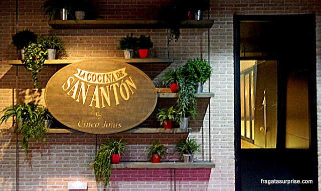 Restaurante La Cocina de San Antón, no Mercado de San Antón - Chueca, Madri