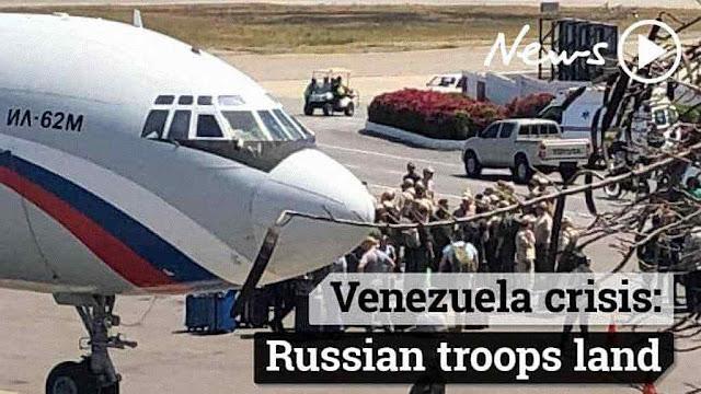 Crise venezuelana evoca crise dos mísseis soviéticos em Cuba