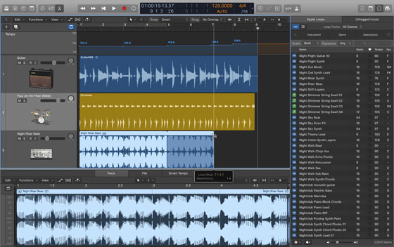 Logic Pro X 可望加入即時循環樂段功能:輕鬆製作音樂