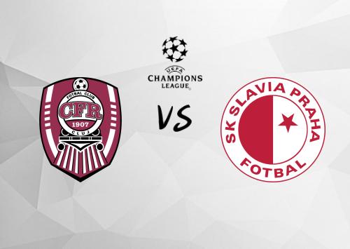 Cluj vs Slavia Praha  Resumen