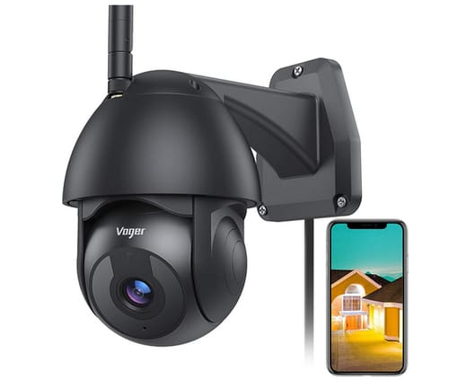Voger Home Security Camera System with 360° View