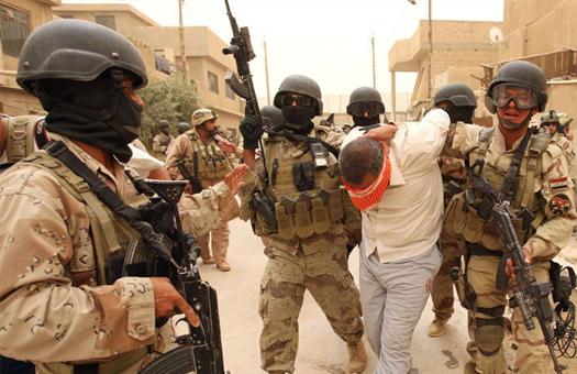 سوپای عێراق كوژرانی 13 چەكداری داعشی راگەیاند