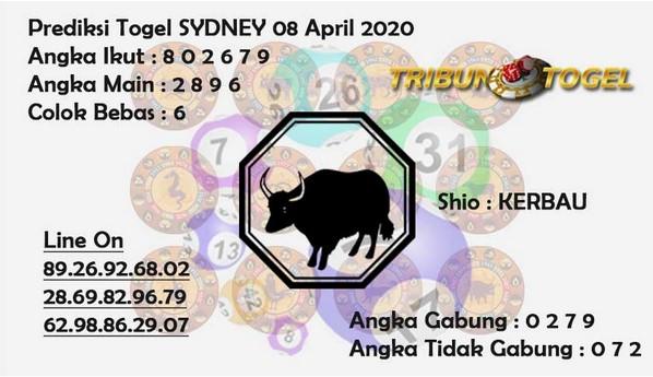 Syair Sidney Rabu 08 April 2020 - Prediksi Tribun Hoki