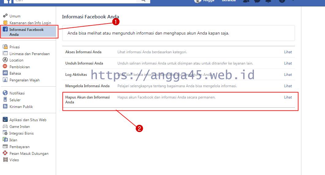 Cara Nonaktifkan Facebook Sementara
