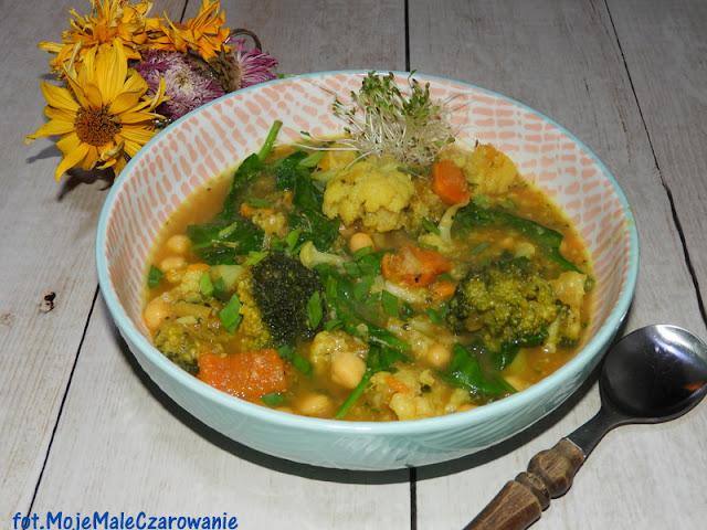 Curry z batatów i ciecierzycy - CZYTAJ DALEJ