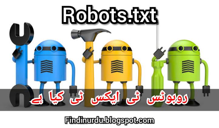 بلاگر میں Robots.txt کیا ہے اور کیسے استعمال کرے Robots.txt kiya hain Robots.txt for blogger
