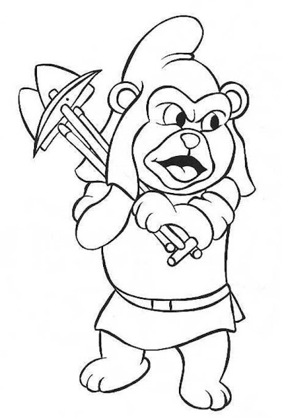 gummy bear song coloring pages - disney gummy bears coloring pages
