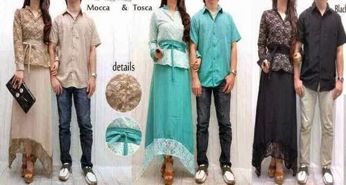 Baju Muslim Couple Dress Terbaru Baju Muslim Couple Dress Batik