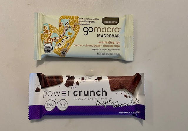 Go Macro Everlasting Joy Protein Bars and Power Crunch Bars