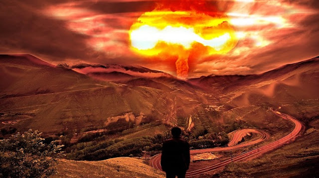 Ilustrasi Ledakan Bom Nuklir