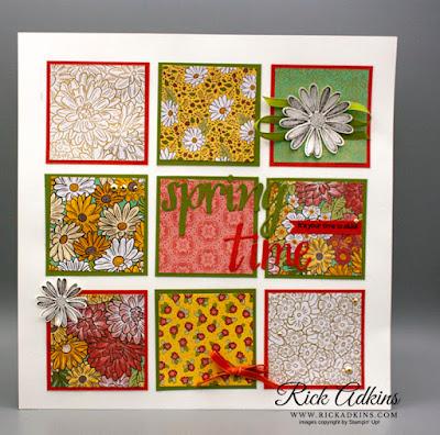 Ornate Garden Specialty Designer Series Paper, Springtime Sampler, Rick Adkins, Stampin' Up!