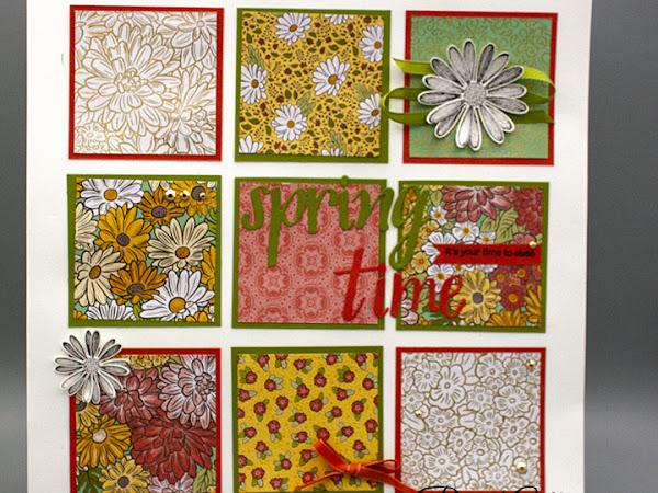 Ornate Garden Springtime Sampler Video Tutorial