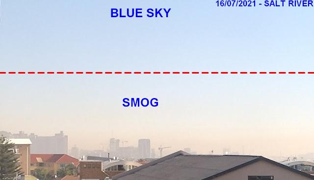 cape town smog