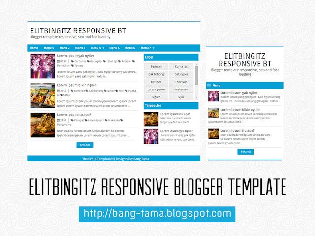 elitbingitz responsive blogger template