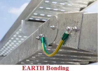 تأريض حوامل الكابلات cable trays earthing