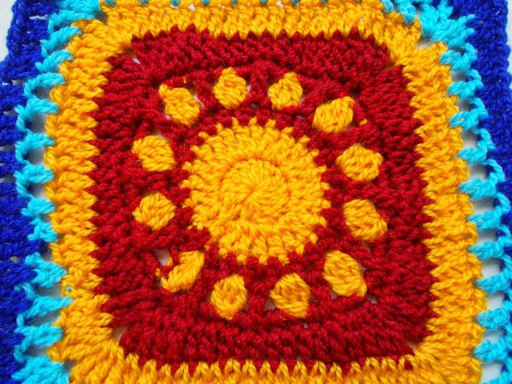 free crochet granny square pattern