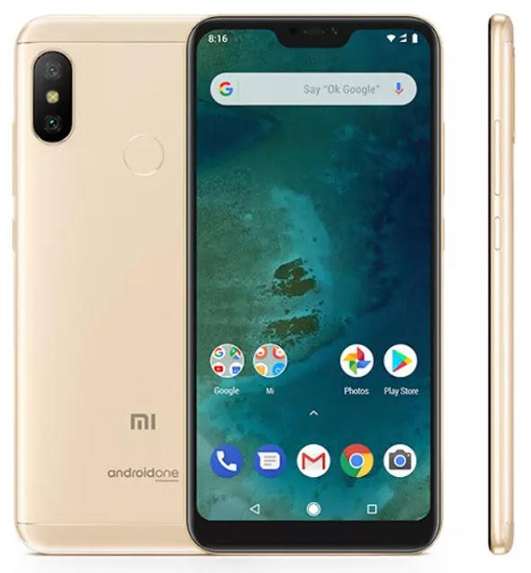 Spesifikasi, Harga dan Review Xiaomi Mi A2 Lite