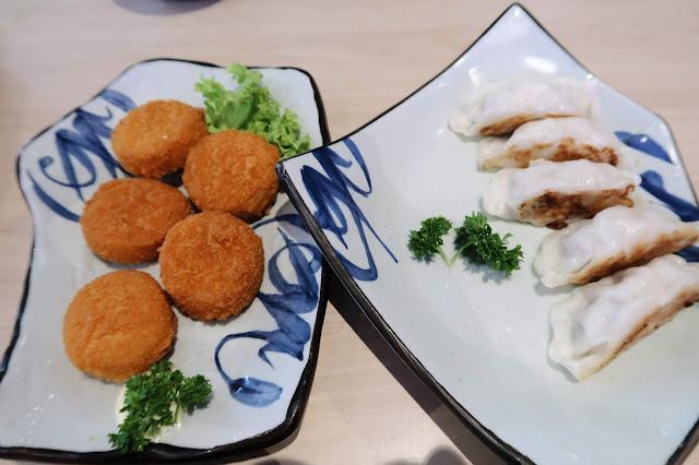 Hotate Furai & Ebi Gyoza