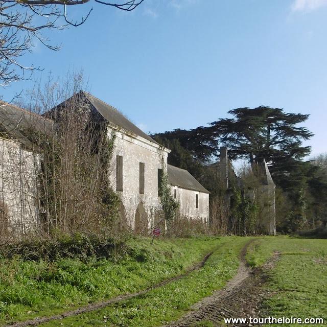 Chateau de la Tourballiere complex, Indre et Loire, France. Photo by Loire Valley Time Travel.