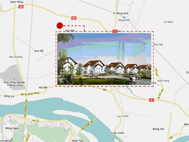 Dự án biệt thự Vân Trì EcoLand Đông Anh
