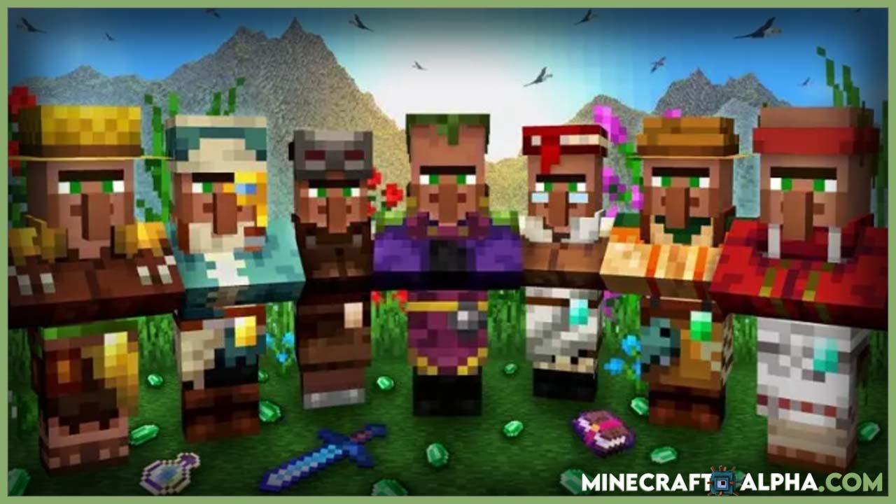 Minecraft Villager Jobs and Trade