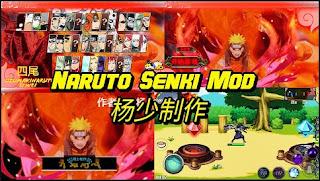 Download Naruto Senki Mod Four Tails Heavy