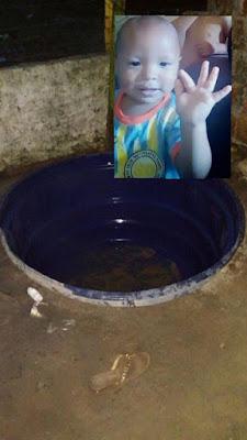 Resultado de imagem para Bebê de 1 ano morre afogado após cair em caixa d'água no interior do RN