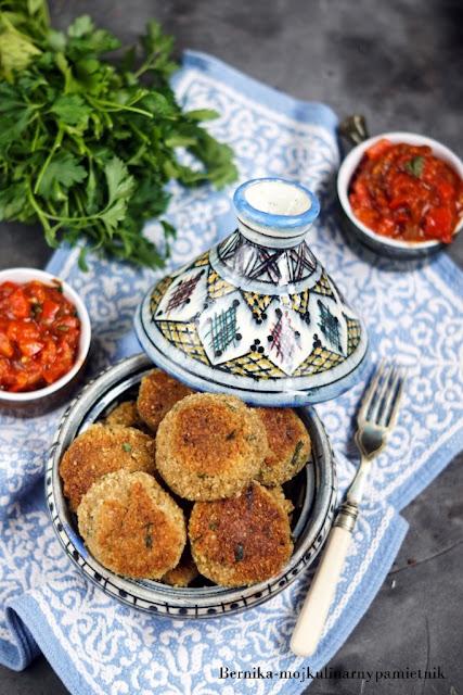 falafele, bernika, kulinarny pamietnik, ciecierzyca, wegetarianskie, obiad