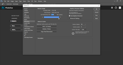 """Cara Mengatasi """"an integer between 96 and 8 is required, closest value inserted"""" di Photoshop 6"""
