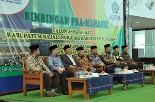 Semarak Pra Manasik Jemaah Haji Asal Kabupaten Majalengka dan Kabupaten Sumedang