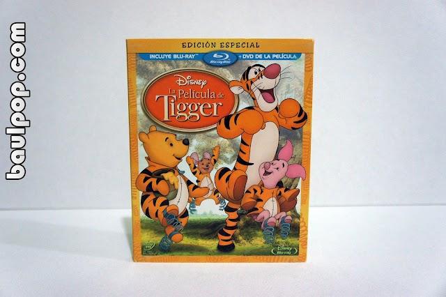 La Película de Tigger, combo blu-ray + dvd con slipcover