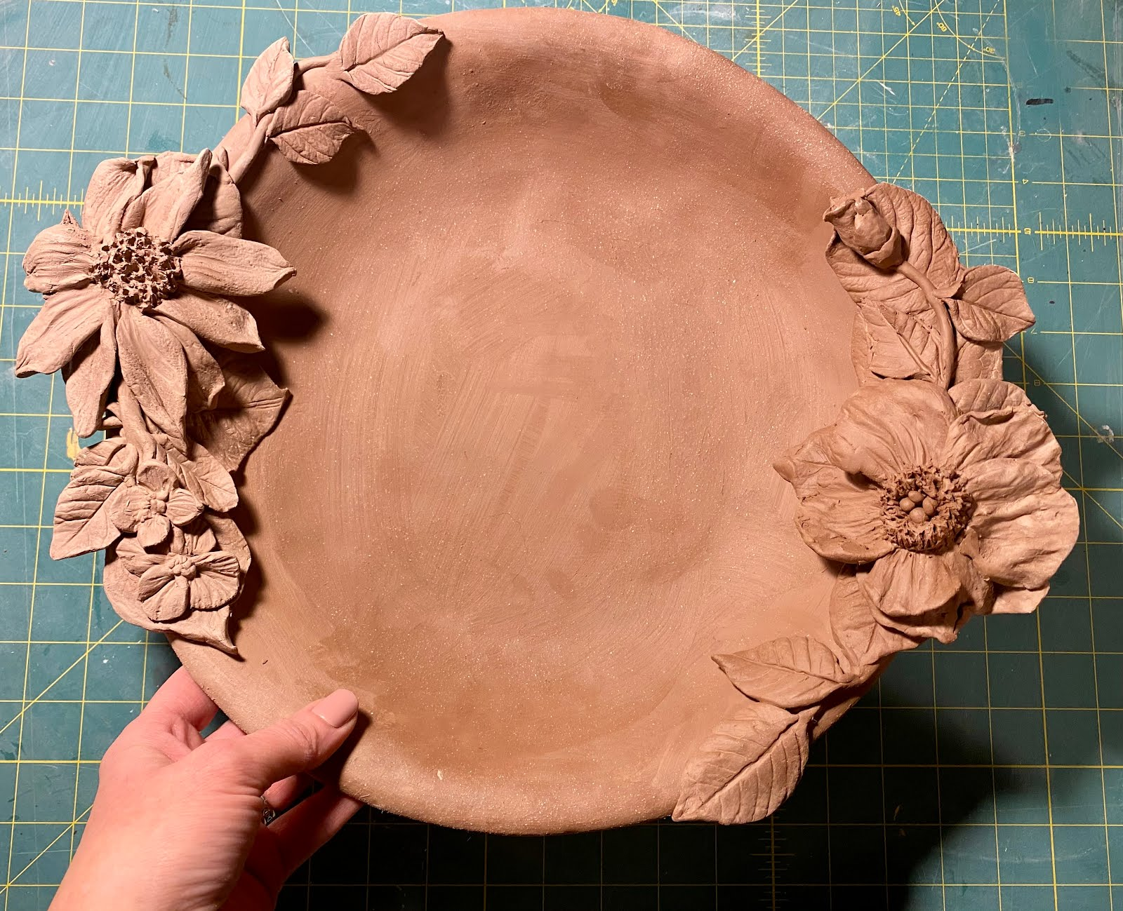 Clay Bowl Before If is Fired