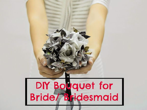 KeriitLeto DIY :: DIY Bouquet for Bride/Bridesmaid