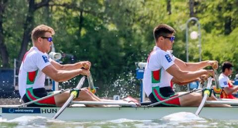 Evezős vk - A kapitány Galambos és a fiatalok plovdivi eredményével volt elégedett