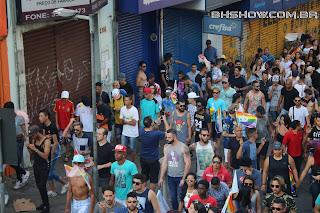 IMG 9981 - 13ª Parada do Orgulho LGBT Contagem reuniu milhares de pessoas