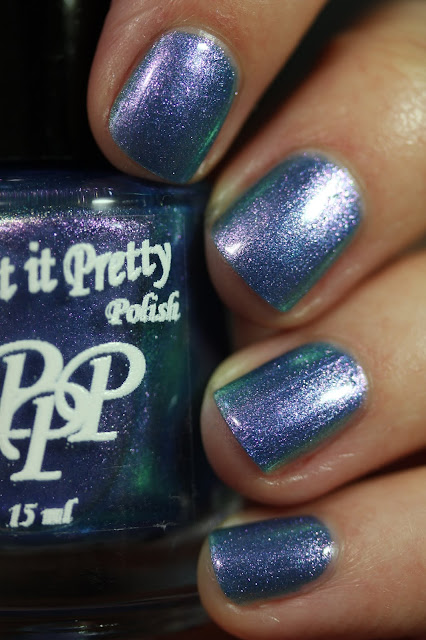Paint It Pretty Polish Spring Jacket swatch pastel multichrome polish