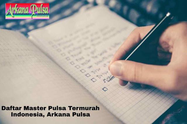 Daftar Master Pulsa Termurah Indonesia, Arkana Pulsa
