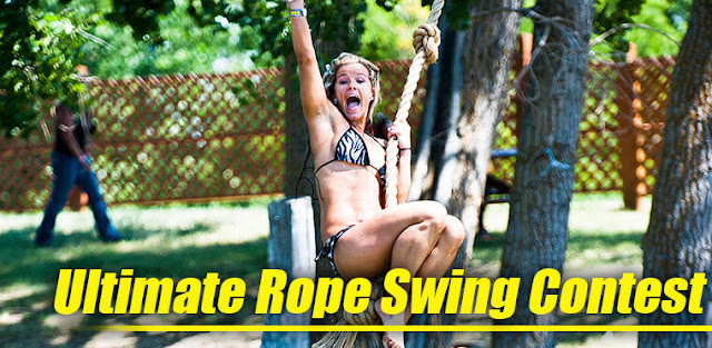Ultimate Rope Swing Contest