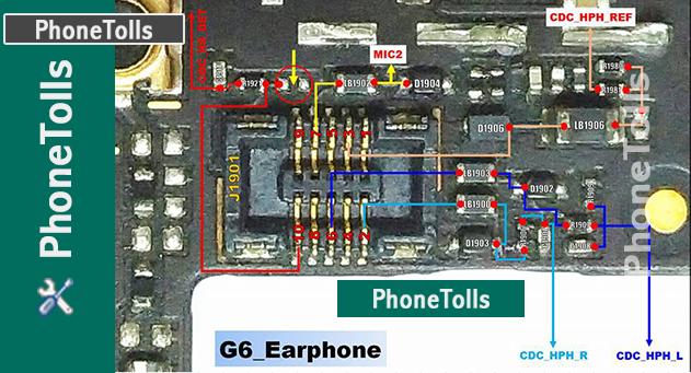 Lg G 6 Speaker Earpiece Problem Jumper Ways Phonetolls