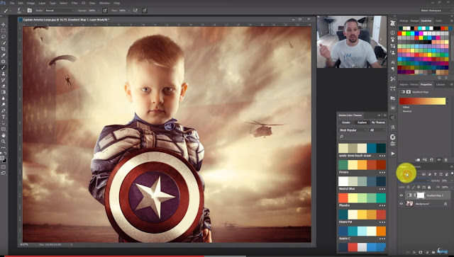 How to Use Adobe Color Themes in Photoshop for Color Grading