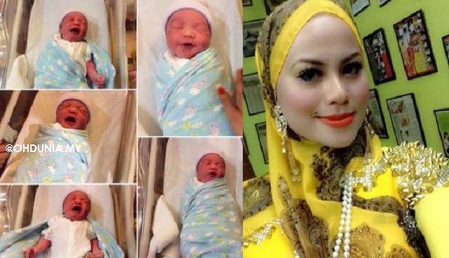Rebecca Nur Al-Islam Selamat Lahirkan Cahaya Mata Keempat