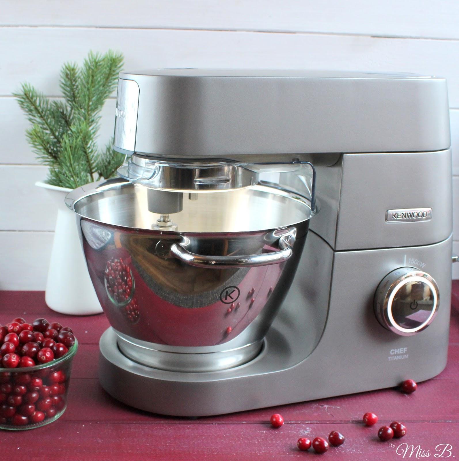 miss blueberrymuffin 39 s kitchen anzeige cranberry white chocolate cupcakes mit der kenwood. Black Bedroom Furniture Sets. Home Design Ideas