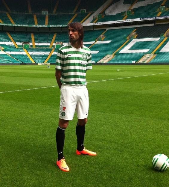 a01286fd149 Celtic 2012-2013 125th Anniversary Home Kit